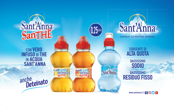 Santhe' S.Anna Deteinato limone/pesca pet 25 cl