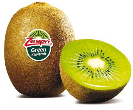 Kiwi zespri green 500g al pz