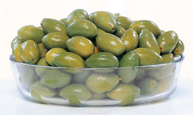 Olive verdi bella cerignola al kg.