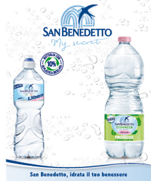 Acqua minerale San Benedetto Easy 1 l
