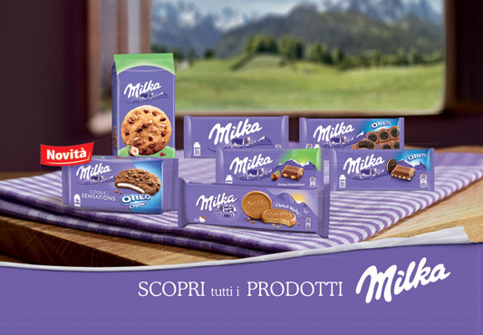 Milka Choco/cookie vari gusti 150/156/184/168/180 g