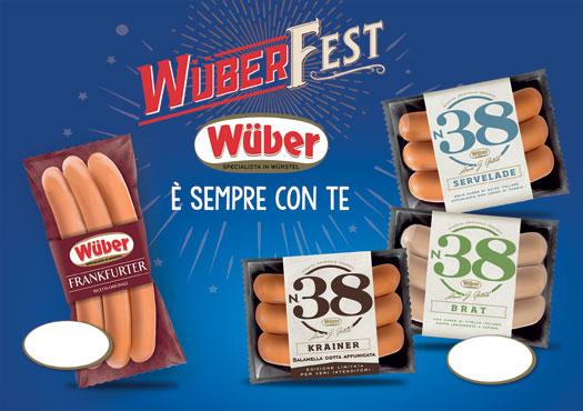 Wurstel n.38 vari tipi Wuber 300 g