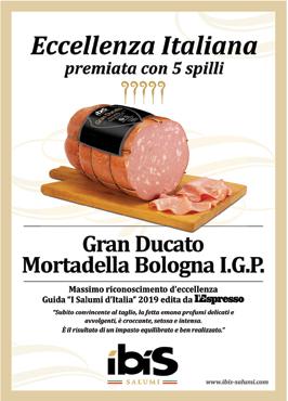 Mortadella Bologna IGP 'Gran Ducato' Ibis al kg