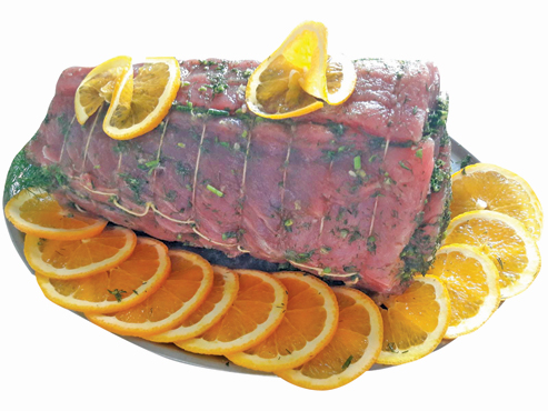 Porchetta di tonno preparata da noi al kg