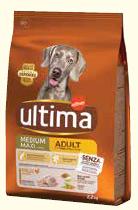 Ultima Dog Adult Medium/Max pollo 2,2 kg