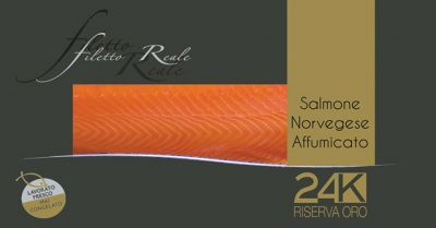 Filetto reale salmone norvegese affumicato