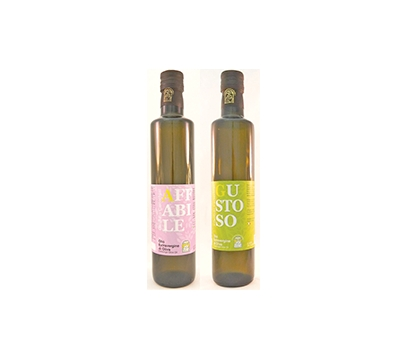 Olio Evo 100% ITA Affabile/Gustoso Cartechini