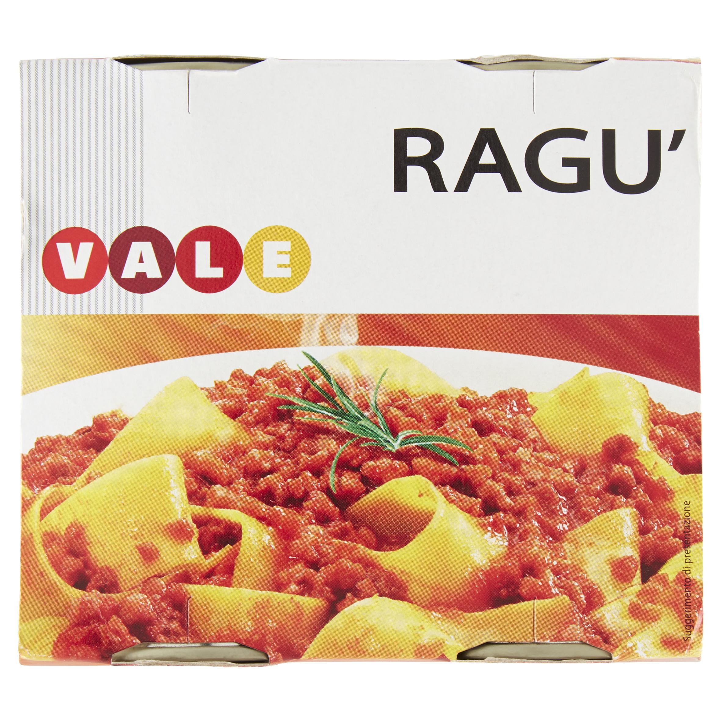 RAGU'BOLOGNESE LATTINA GR180X2 VALE