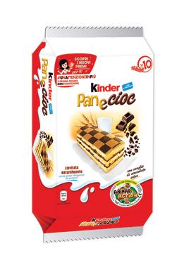 Merenda Kinder Ferrero PaneCioc 290 g