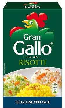 Riso Gallo per risotti 1 kg