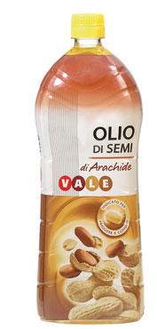 olio di semi arachide 1 litro vale