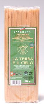 Pasta farro Bio La Terra e il Cielo vari formati 500 g