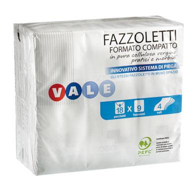 FAZZOLETTI MINI X18  VALE