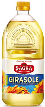 Olio di semi di girasole Sagra 2 l