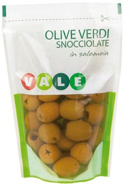 Olive verdi snocciolate Vale 170 g