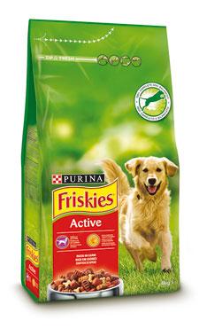 Croccantini cane Friskies Active 4 kg