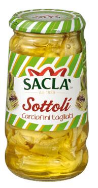 Carciofini tagliati Sacla' 285 g