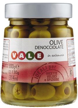 Olive verdi Snocciolate Vale 300 g