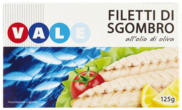 FILETTI SGOMBRO GR.125  VALE