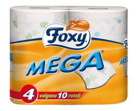 Carta igienica decorata Foxy x 4 rotoloni