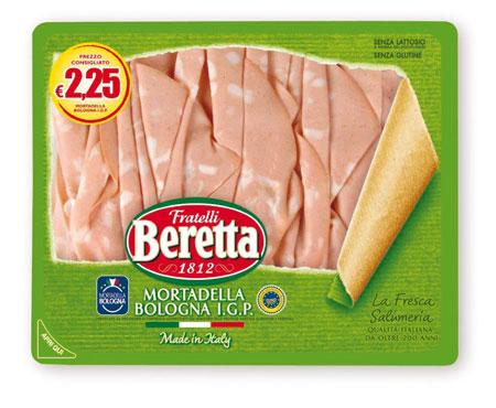 Mortadella Bologna IGP Fresca Salumeria Beretta 120 g