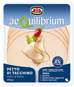 Aequilibrium petto tacchino al forno 140 g