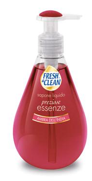Sapone liquido Fresh&Clean vari tipi 300 ml