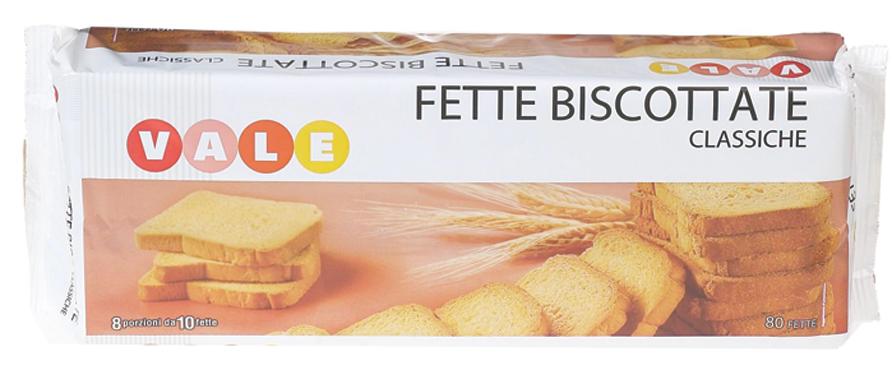 FETTE BISCOT.CLASSICHE GR.640  VALE