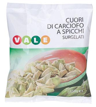 Cuori di carciofi Vale 450 g