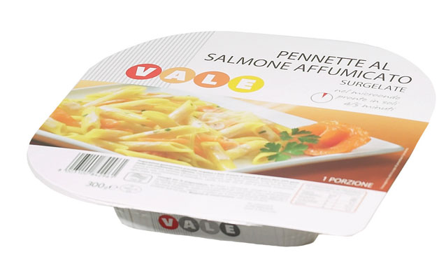 Pennette al salmone/Tagliolini panna e speck Vale 300 g