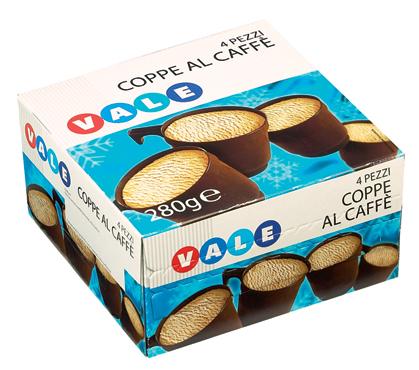COPPETTE X4 AL CAFFE'GR280  VALE