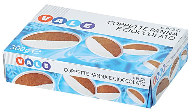 COPPETTE X6 PAN/CAC.GR.300  VALE