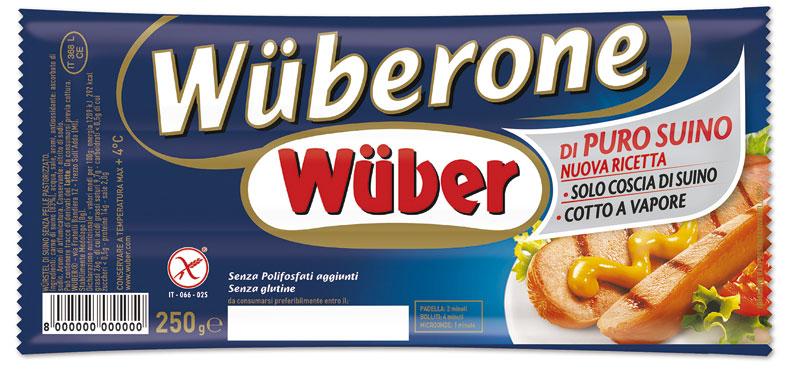 Wuberone l'originale confezionato da 3 pezzi 250 g