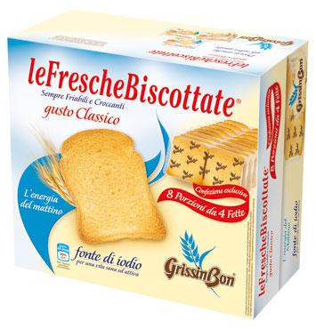Fette biscottate classiche/integrali Grissin Bon 250 g