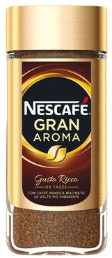 Nescafe' Gran Aroma classico/decaffeinato 100 g