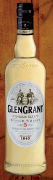 Whisky Glen Grant 5 anni  70 cl