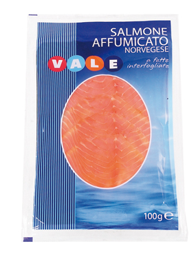 Salmone norvegese affumicato Vale 100 g