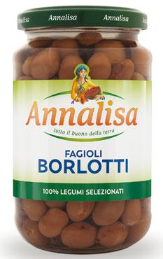 Fagioli borlotti/cannellini/spagna/ceci Annalisa 350 g