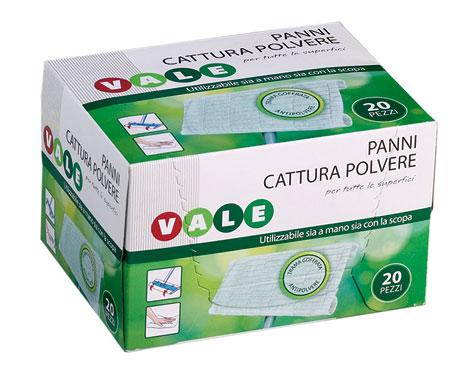 PANNI CATTURA POLVERE PZ.20  VALE