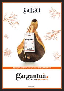 Prosciutto crudo 'Gargantua'' 24 mesi Galloni al kg