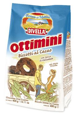 Biscotti Ottimini Divella vari tipi 350/400 g