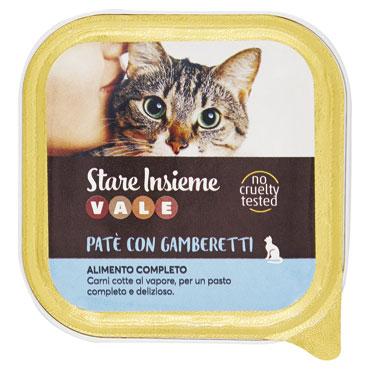Pate' gatto vari gusti Vale 100 g