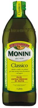 Olio extra vergine classico/delicato Monini 1 l