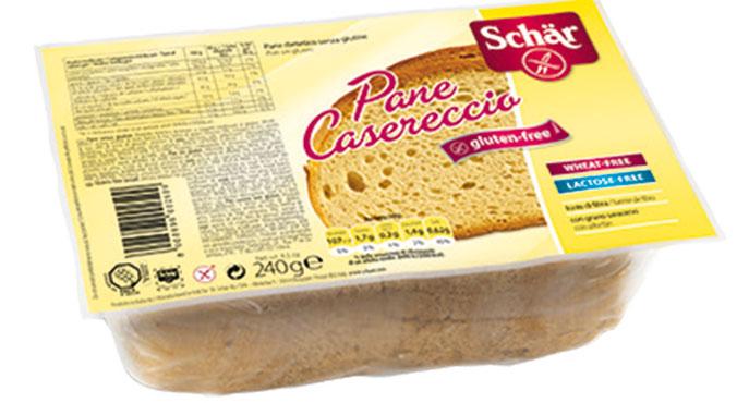 Pane Casereccio a fette senza glutine Schar 240 g