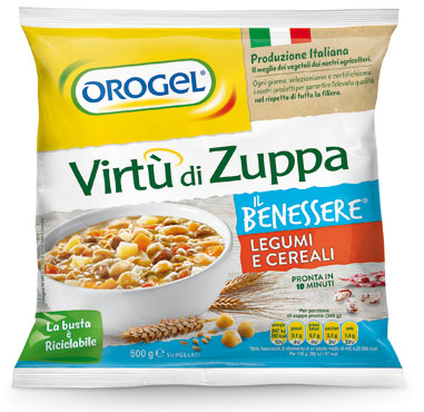 Virtu' di zuppa Orogel leggerezza/cereali/verdure 500 g