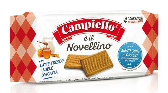 Biscotti Novellini Campiello vari tipi 350/380 g