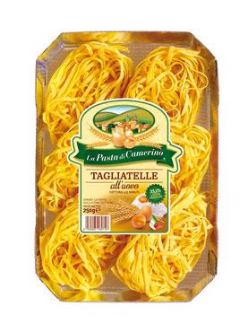 Pasta all'uovo Camerino vari formati 250 g