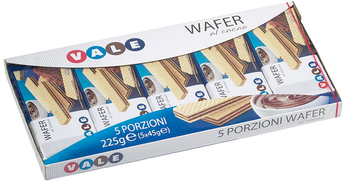 WAFER CACAO GR45X5 VALE
