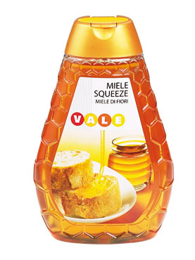 Miele squeeze Mille Fiori Vale 350 g