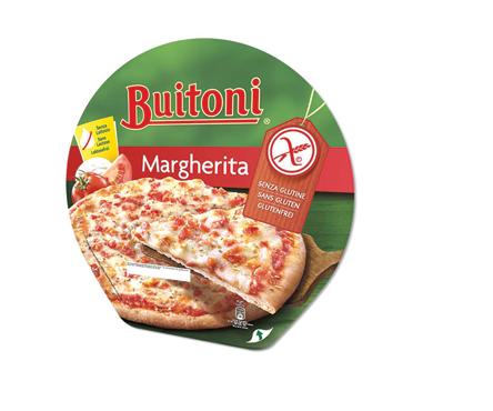 Pizza Forno Pietra Margherita senza glutine e senza lattosio Buitoni 360 g